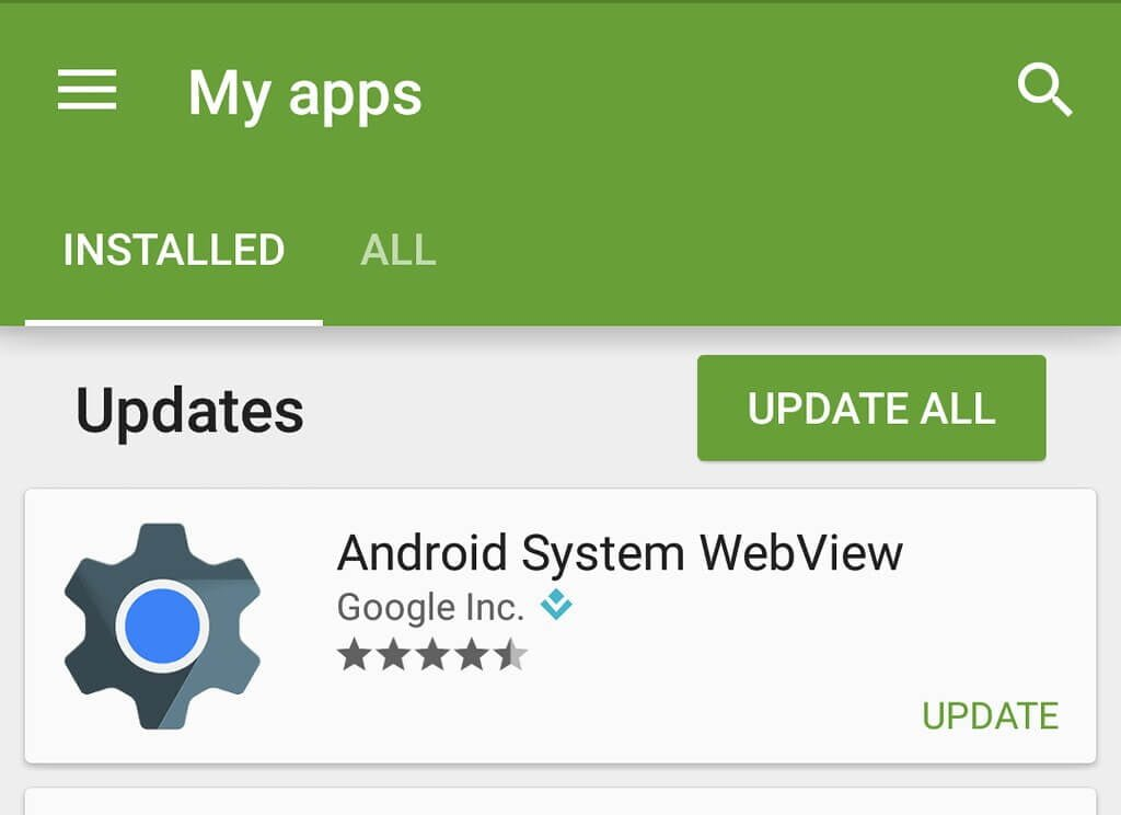 Android System Webview shoukhintech