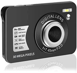 Digital Camera HD 1080P Vlogging Camera 30 MP Mini Camera.