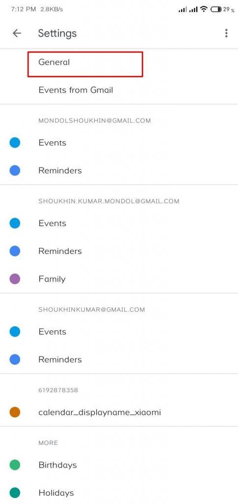 Google Calendar enable dark theme shoukhintech 2