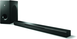 Yamaha YAS408BL Soundbar 3D Surround Sound with DTS VirtualX