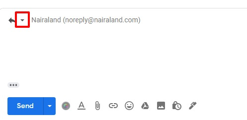 Reply of gmail changing subject line