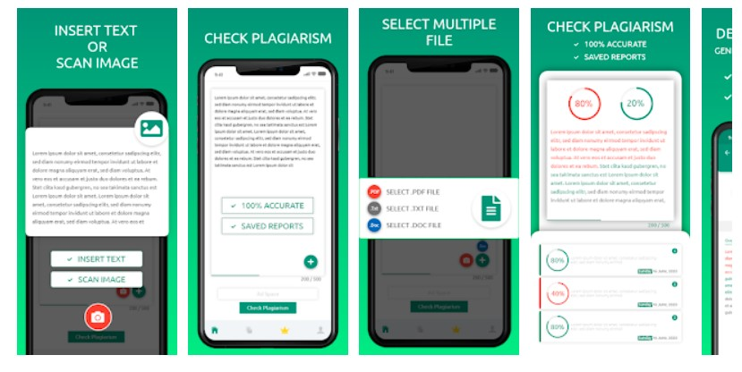 Android Plagiarism Apps-